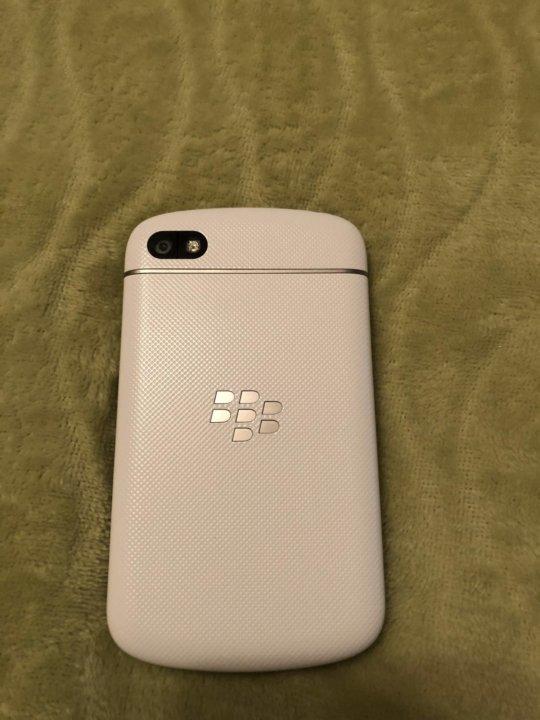 Смартфон Blackberry Q10 SQN100-3 LTE 4G белый – купить в