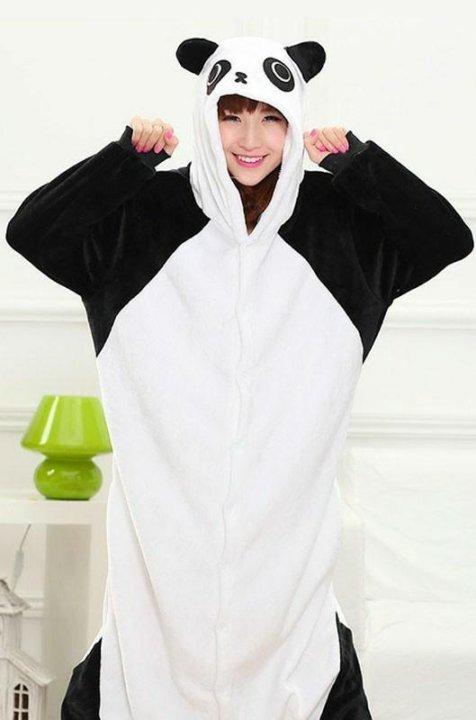 62f5e4113a3e Кигуруми (пижама, костюм) Белая Панда – купить в Москве, цена 1 590 ...