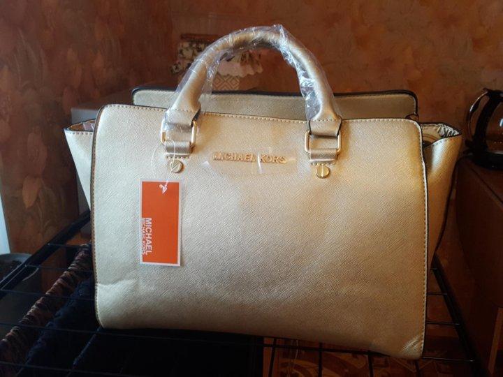 13e5cc785cfc Санкт-Петербург. Сумка michael kors selma medium leather satchel. Фото 2.