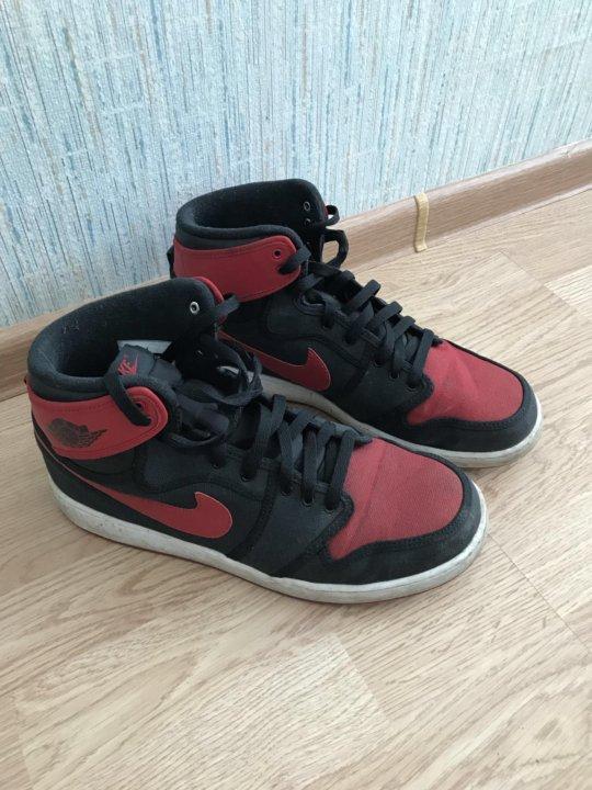 """Air Jordan 1 Retro KO High """"Black Red"""" – купить в Санкт-Петербурге ... 6a9ac6c2496"""