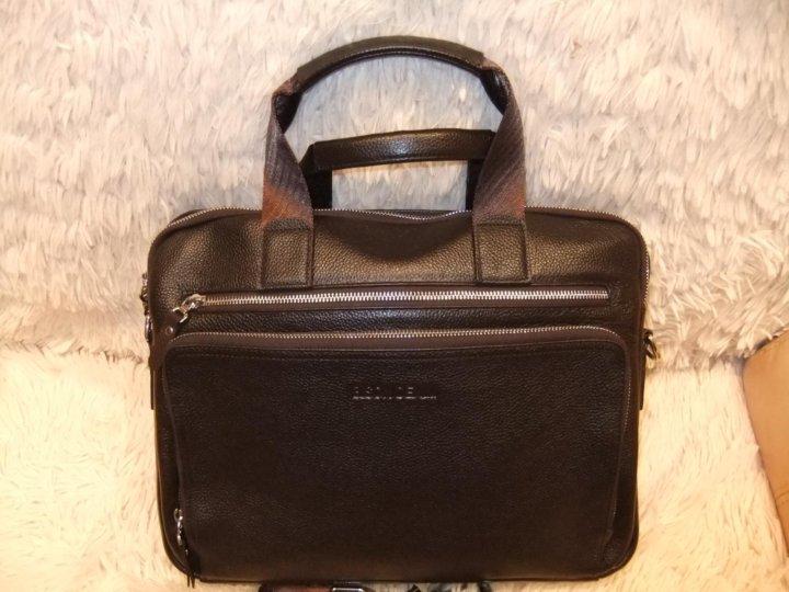 04a23779d913 Мужская кожаная сумка – купить в Москве, цена 6 500 руб., дата ...
