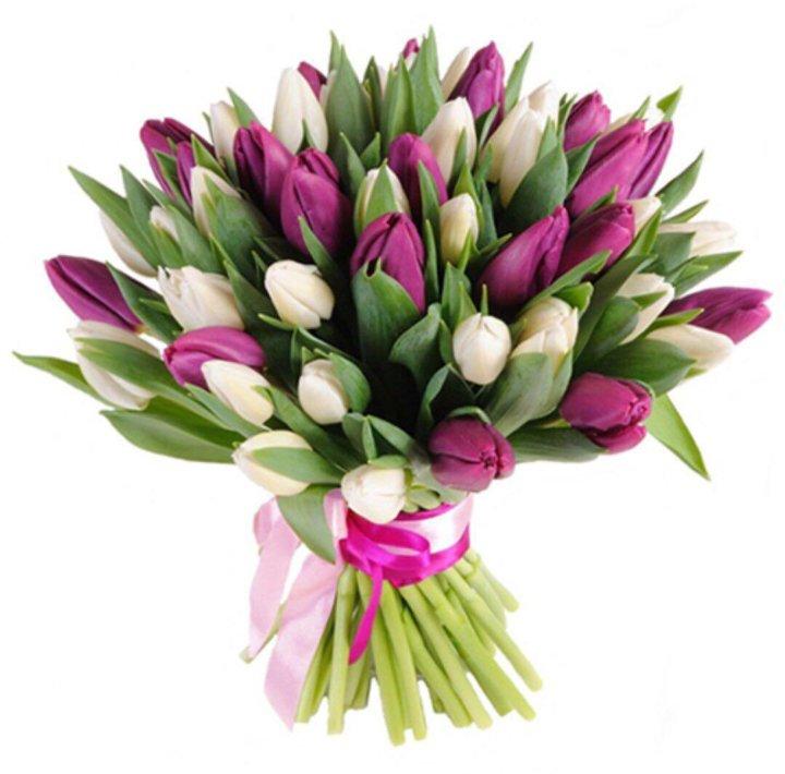 Букеты тюльпаны 8 марта