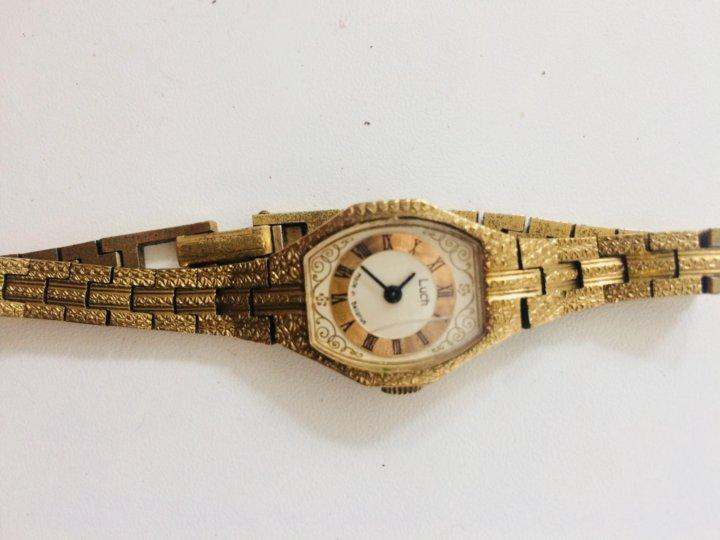 Часы луч женские золотые продам лонгинес ломбард скупка часов