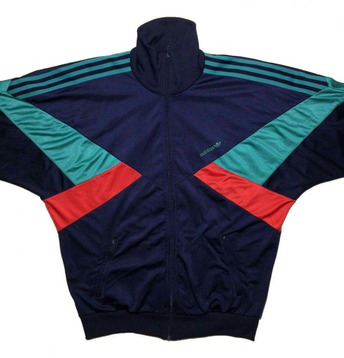 0cd51ef45a8e Олимпийка adidas мастерка винтаж 90 – купить в Иркутске, цена 4 000 ...