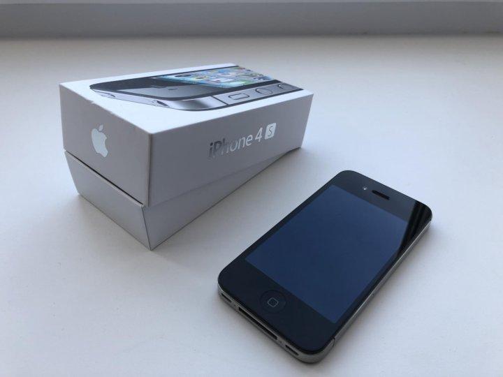 Продаю iPhone 4S 64GB Чёрный