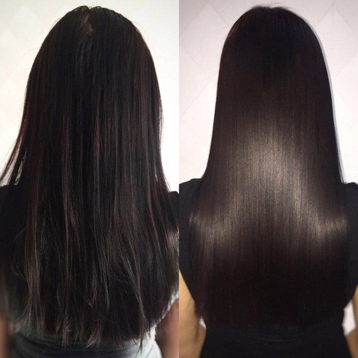 Аниме картинки темные волосы фото до и после