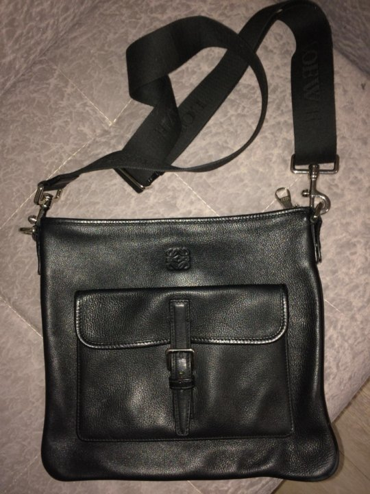 917504636804 Мужская кожанная сумка Loewe Paris, оригинал – купить в Санкт ...