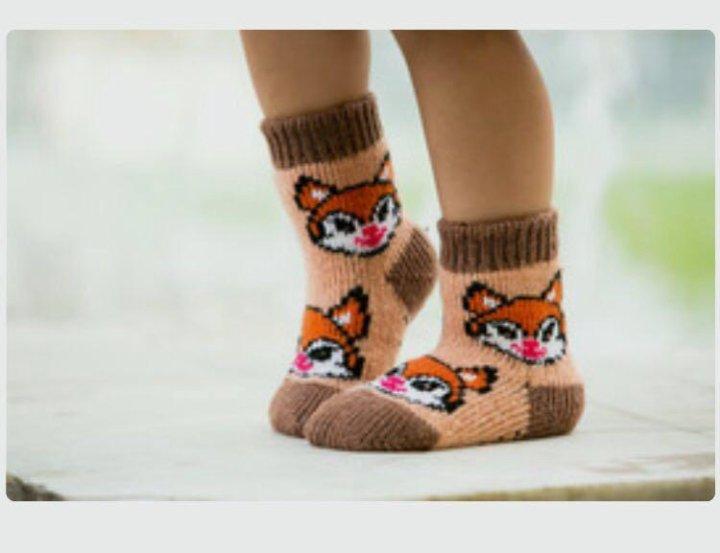 f39f904b568d7 Носки тёплые детские «Бабушкины носки»,90% шерсть – купить в ...