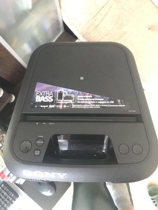 Музыкальный центр SONY GTK-XB7 black – купить, цена 10 500 руб ... be520bfea09