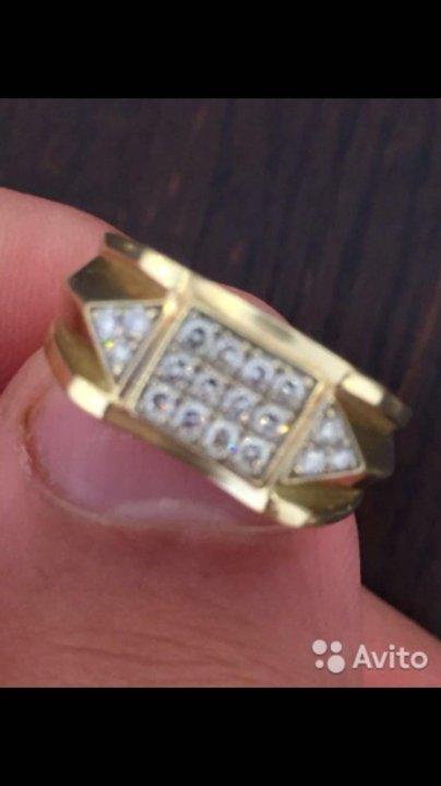 ... Золотой перстень с бриллиантами. Фото 2. Ростов-на-Дону. 334cd1d81e39b