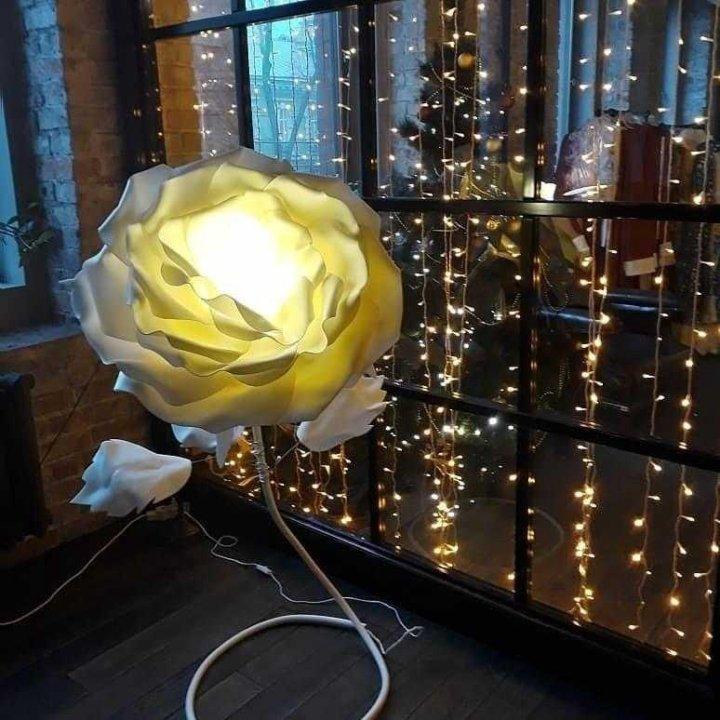 купить торшер роза