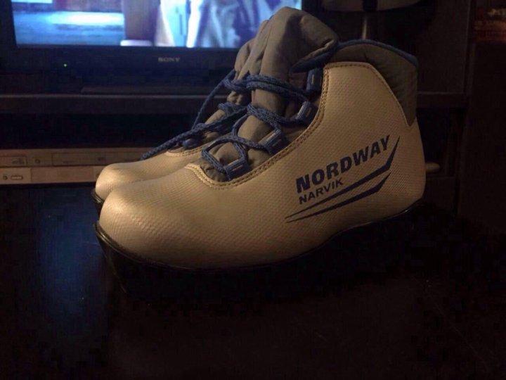cebc55ee3e0c Лыжные ботинки, детские NORDWAY. – купить в Реутове, цена 700 руб ...