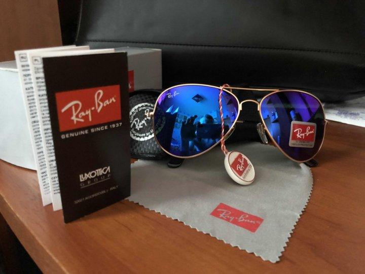 Очки солнцезащитные Ray Ban – купить в Санкт-Петербурге, цена 1 200 ... 4bc06d46957