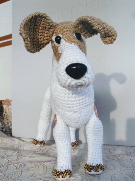 собака вязаная крючком купить в саратове цена 599 руб продано 6