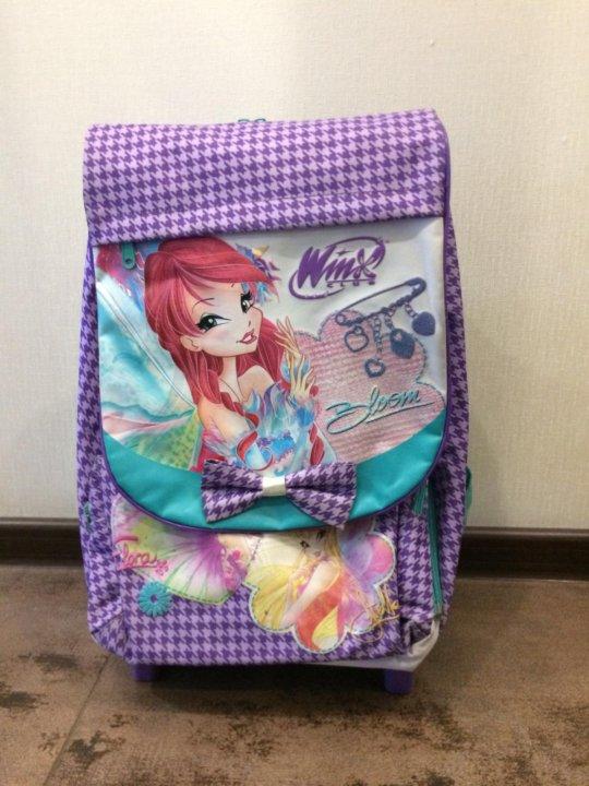 671a5f4bfe92 Детский портфель-рюкзак для девочек Winx Club – купить в Москве ...