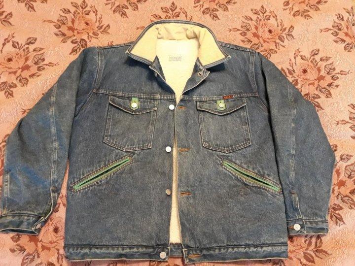 Джинсовая куртка на меху RIFLE – купить в Санкт-Петербурге 9dcb0cc93ffb7