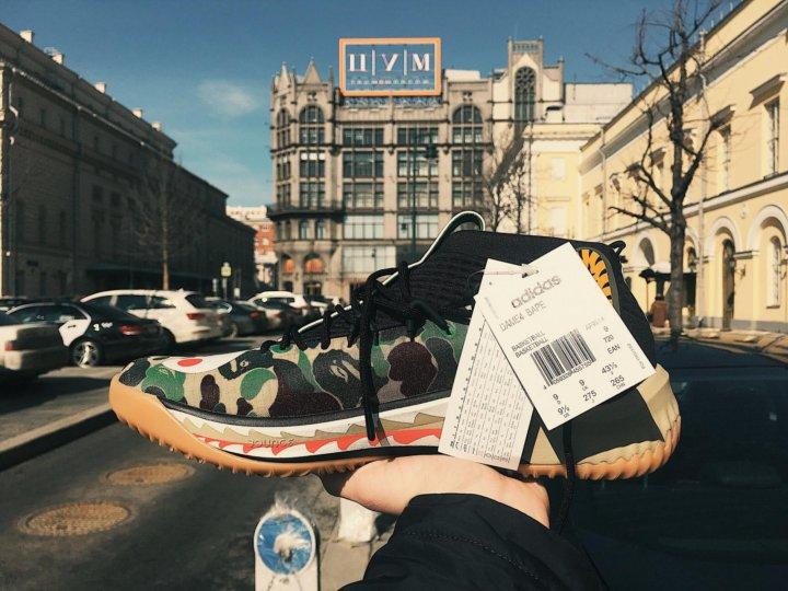 кроссовки Dame 4 Adidas Bape купить в москве цена 22 000 руб