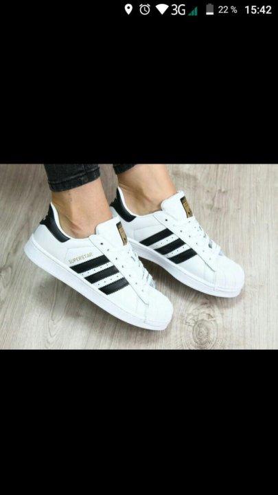 8a4d4c4d Кеды Adidas Superstar – купить в Барнауле, цена 1 000 руб., продано ...