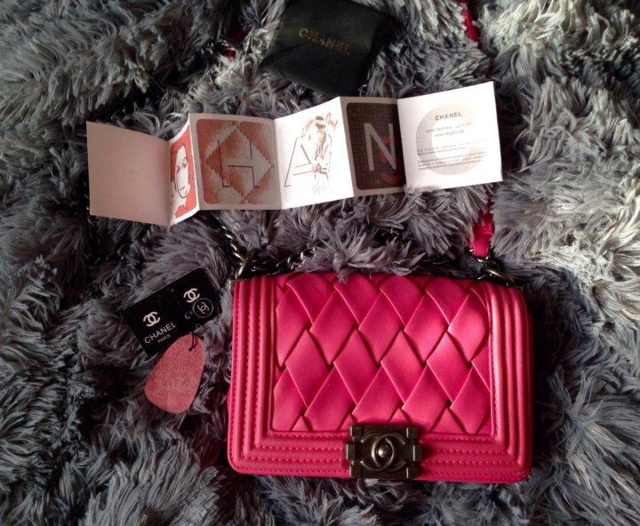 a81c11da01e0 Сумка Chanel boy Шанель через плечо – купить в Москве, цена 4 999 ...
