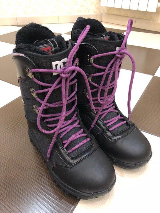 c93a1b1d13f9 Женские ботинки для сноуборда DC, размер 9,5 сша – купить в Одинцово ...