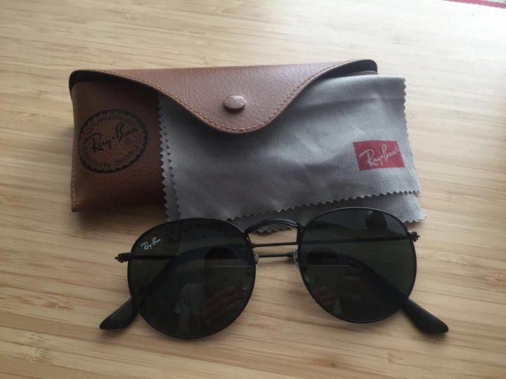 Солнцезащитные очки ray-ban round metal black 3447. Фото 1. Санкт-Петербург  ... 685d007c742