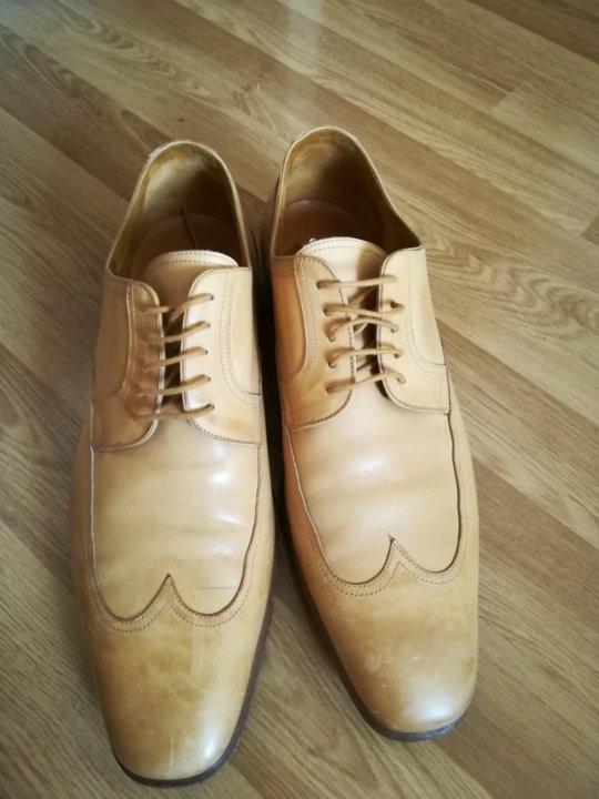 Мужские туфли 43 HERMES ОРИГИНАЛ. Италия. – купить в Москве, цена 5 ... 56f06eb6376