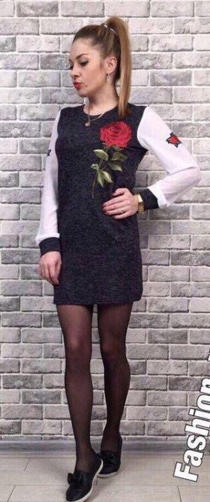 Новое платье туника – купить в Барнауле, цена 400 руб., продано 4 ... 136da3225f5