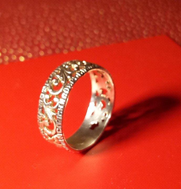 Кольцо серебро 925 проба 16,5 размер православное. Фото 1. Екатеринбург. ... 896c12c9974