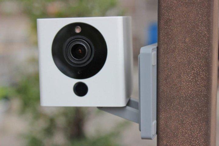 IP камера Xiaomi Small Square Smart Camera 1080P – купить в Новосибирске,  цена 1 550 руб., продано 26 апреля 2018 – Видеонаблюдение
