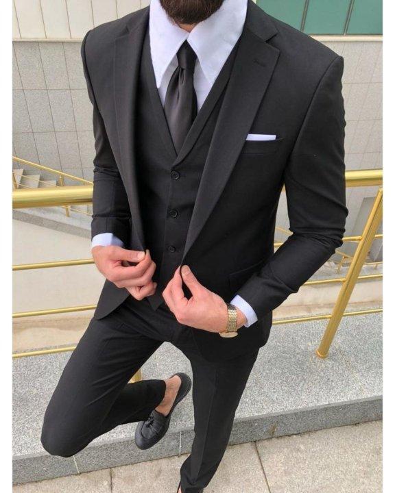f38d68b280b Стильный мужской костюм тройка от SHADRIN – купить в Москве
