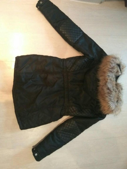 1bc90588161 Лобня. Zara 40-42 куртка парка холодная весна осень. Фото 3. Лобня.