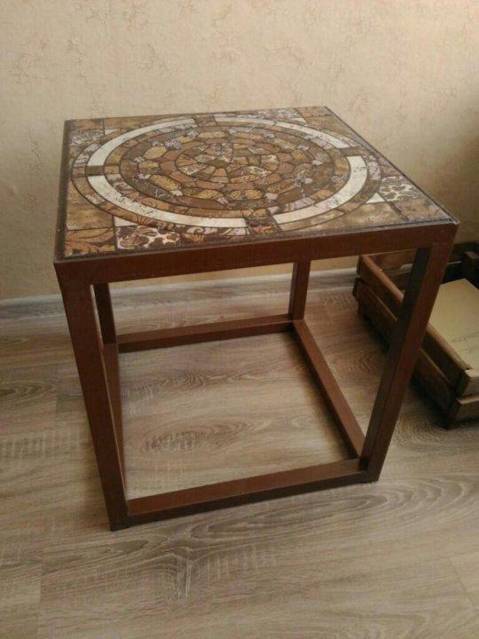 журнальный столик в стиле лофт купить в тимашевске цена 3 500 руб