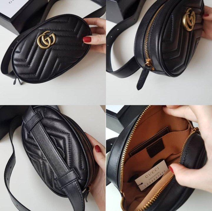 3d36249df26d Поясная сумка Gucci Гуччи Marmont GG – купить в Москве, цена 4 000 ...