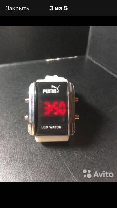 83a2ab41 Уфа. Часы puma led watch. Фото 2.