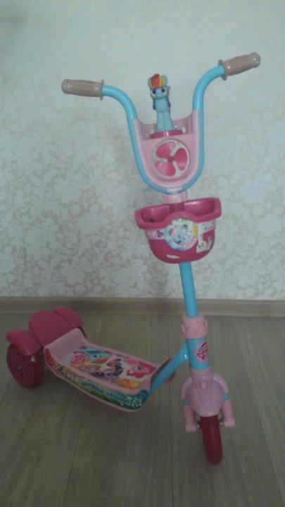 самокат Rainbow Dash My Little Pony купить в новосибирске цена 1