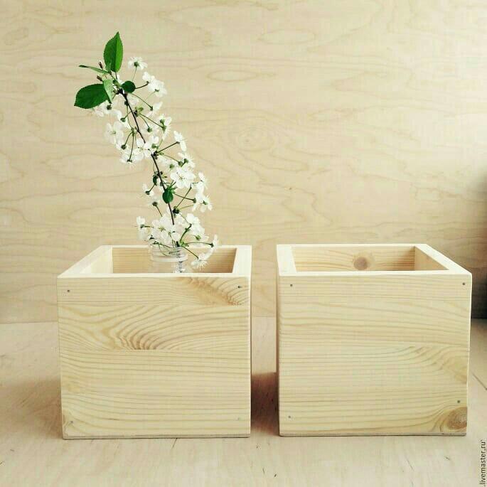 деревянные короба для цветов фото удовольствием делимся самыми
