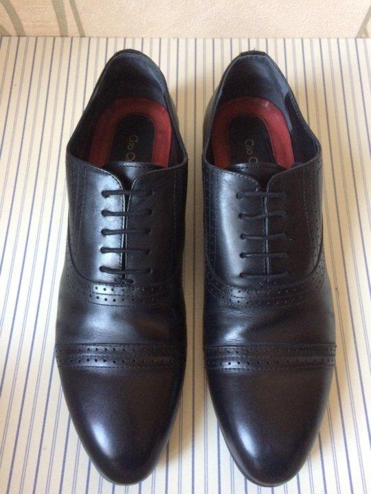 d7d039897 Мужские кожаные туфли Gio Cellini 43 р. – купить в Санкт-Петербурге ...