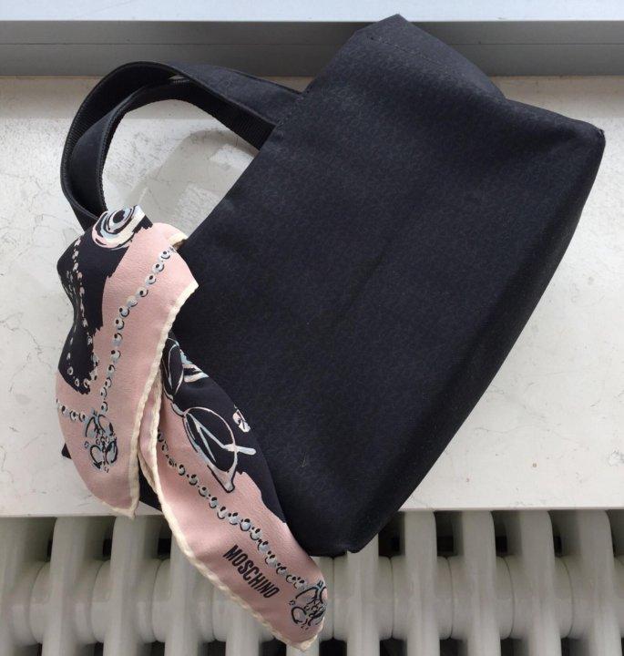 fd5698b177e7 Тряпичная сумка Dkny – купить в Москве, цена 1 000 руб., продано 7 ...