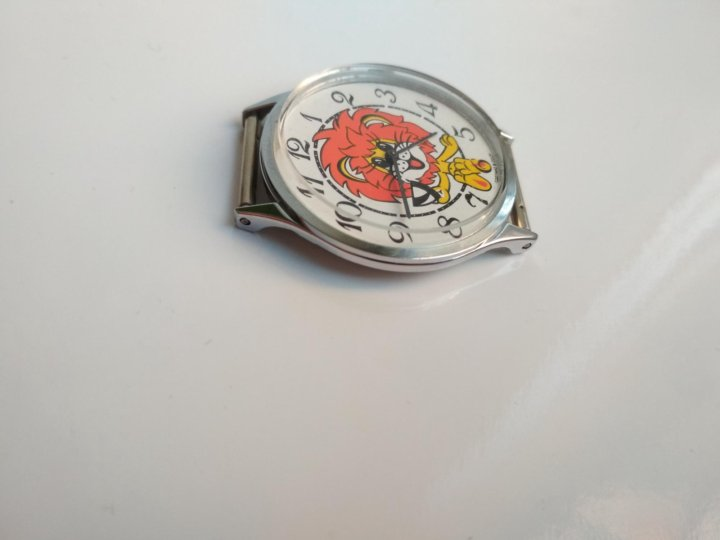 Часы чайка детские львенок