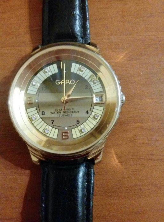 444bb01443e0 Мужские наручные водонепроницаемые часы GARO – купить в Москве, цена ...