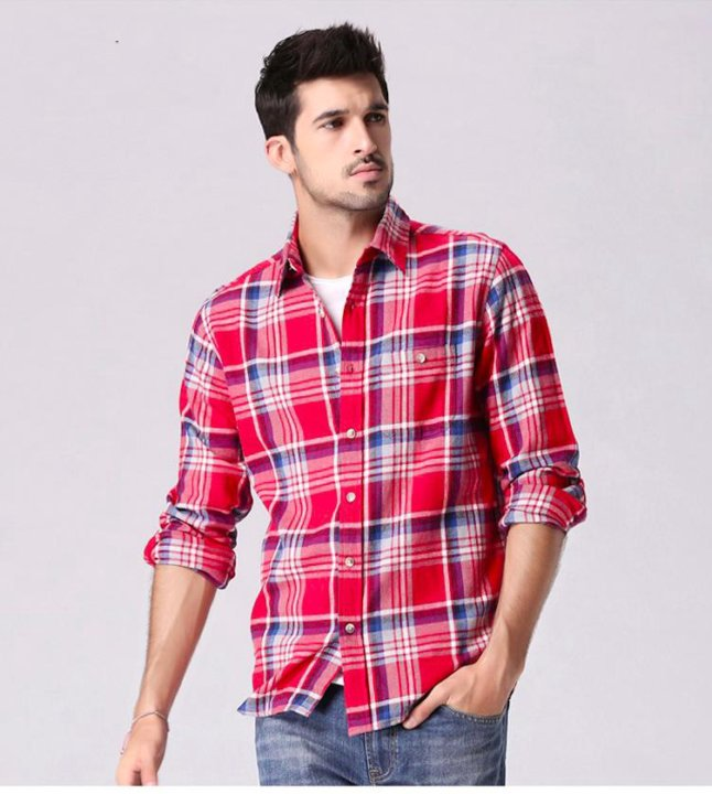 ad0e40b15fbfba3 Фланелевая рубашка в клетку – купить в Набережных Челнах, цена 1 250 ...