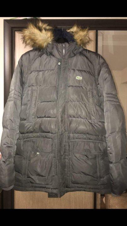 Зимняя куртка Lacoste – купить в Москве, цена 8 000 руб., продано 30 ... 96b5dea8f76
