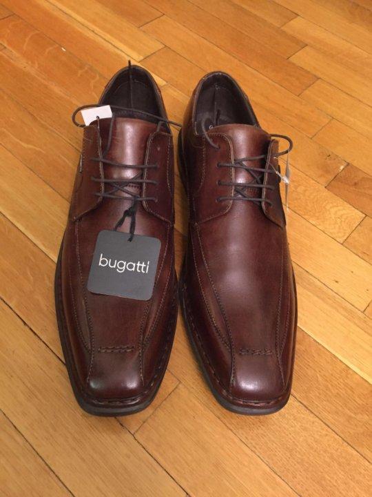 d247c5794 Мужские туфли кожаные новые Bugatti (45 р.) – купить в Москве, цена ...