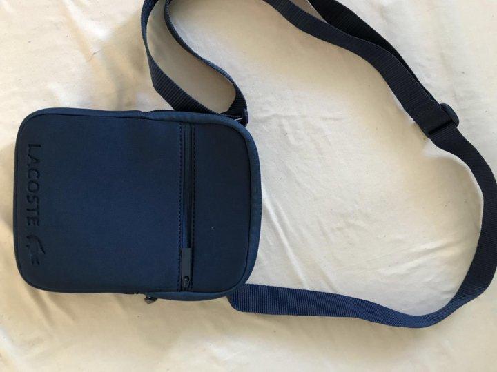24b0e6faa19 Мужская сумка Lacoste – купить в Москве, цена 800 руб., продано 25 ...