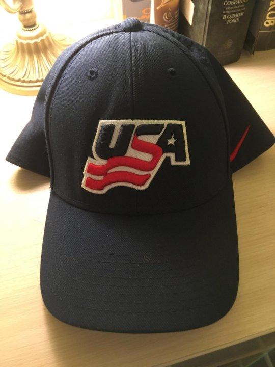 Бейсболка NIKE сборной США по Хоккею – купить в Сочи, цена 1 000 руб ... 94b31480347