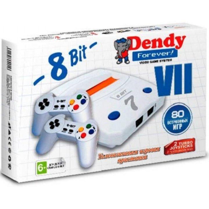 fecd1dd9a6e7e Dendy + 80Игр 8bit Forever VGS VII 80в1 2дж D 7 – купить в Костроме ...