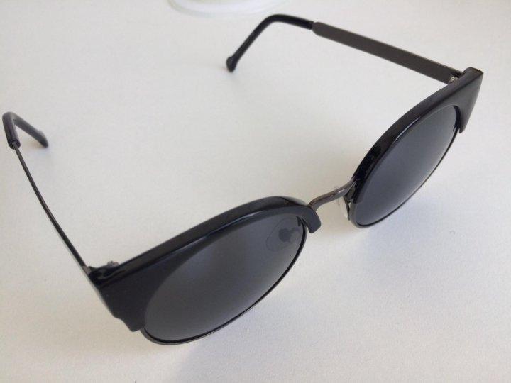 600a5b5ee3ed Солнцезащитные очки черные женские новые – купить в Москве, цена 600 ...