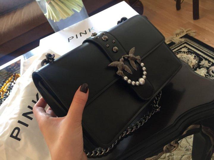 07bfbfd55135 сумка pinko lux🔥 – купить в Москве, цена 4 000 руб., продано 5 мая ...