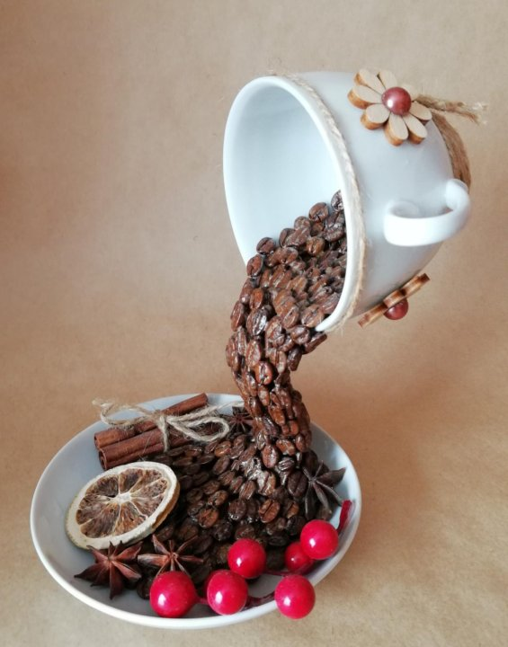 Как сделать поделку из чайной кружки фото