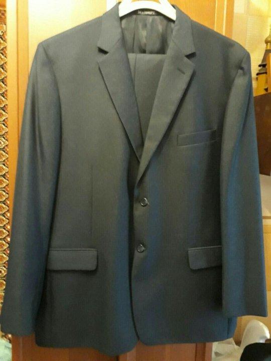 434d42aa555a Мужской костюм размер 56-58, рост 188-190, новый – купить в ...